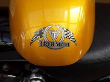 TRIUMPH-Thunderbird Mono Cromo Pegatinas Banderas