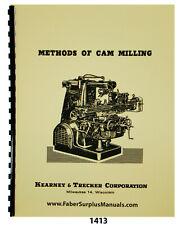 Kearney Trecker Methods of Cam Milling Instruction Manual #1413