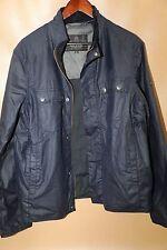 #48 Barbour International Lock Wax Jacket Size L
