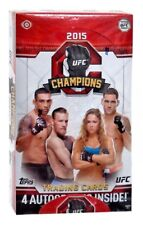 2015 Topps UFC Champions Trading Card Box