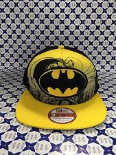 Cappello NEW ERA Hero BATMAN Snapback Cappellino - Giallo / Nero - HEROSCE 466