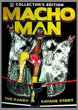 NEW WWE COLLECTOR'S EDITION MACHO MAN RANDY SAVAGE 6 DVD BOX SET T-SHIRT GLASSES