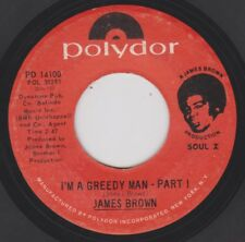 JAMES BROWN {70s Soul Funk} I'M A GREEDY MAN - PT1 / GREEDY MAN - PT 2 ♫hear