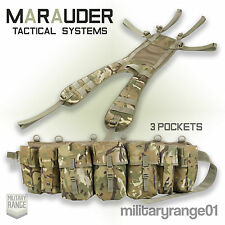 Marauder Special Forces Airborne Webbing Set - Yoke + 4 Pocket Belt -British MTP