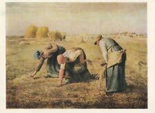 Cartolina Jean Francois Millet le spighe lettrici-rimanendo ungelaufen