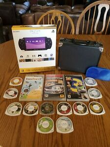 Sony PSP 3000 PlayStation Portable Black In Box - Used