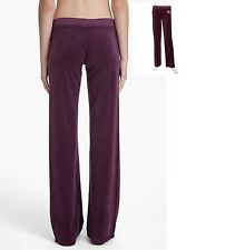 JUICY COUTURE Ornate Velour Drawstring Pants, Nightingale XL