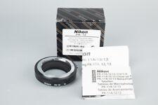 *Mint* Nikon PK-12 PK12 Auto Extensions Ring Tube Adapter Japan SLR Camera