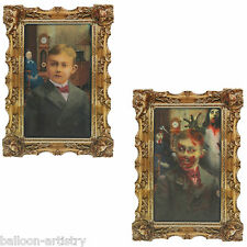 Halloween Gotico Portrait fradicio Zombie MAN Lenticular Parete PARTY DECORAZIONE