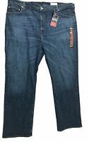 CREMIEUX Premium Denim Jeans Mens Straight Relaxed Blue Sz 48X34 NWT