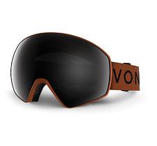 NEW Von Zipper Jetpack Goggles-ORS Orange Satin-Blackout+Yel-SAME DAY SHIPPING!