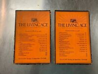 2 issues of The Living Age Magazine, 1926 Great articles, stories, poems, review