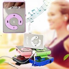 UK MP3 Player Mini USB Clip with 8GB Micro TF Card Earphone Music Media Portable