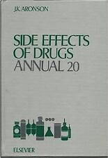 Side Effects of Drugs Annual, Volume 20, , Very Good Book
