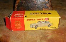 Vintage Dinky #198 Rolls Royce Phantom V W/Box