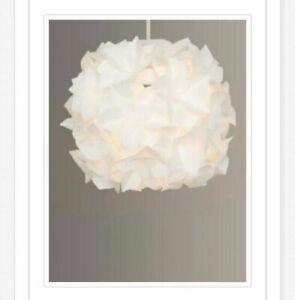 John Lewis Anyday Lotus Flower Easy to fit pendant ceiling shade