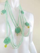 Runde Modeschmuck-Halsketten & -Anhänger im Collier-Stil