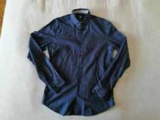 Bogner, Hemd, Gr. M, 39/40 Slim Fit, Blau 100% Baumwolle