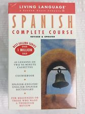Living Language Spanish Complete Course Audiobook on Two Cassettes