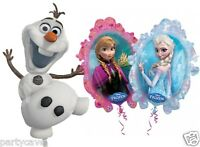 Disney Frozen Supershape Anna Elsa Olaf Supershape Foil Helium Balloon