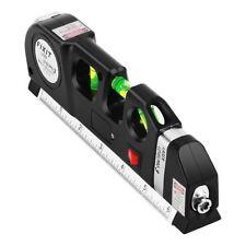 Multipurpose Laser Level Vertical Horizon Measuring Tape 8FT Aligner Ruler Tool