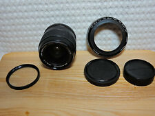 Minolta MD W.Rokkor 2/28mm in good condition, 2 caps & lens hood