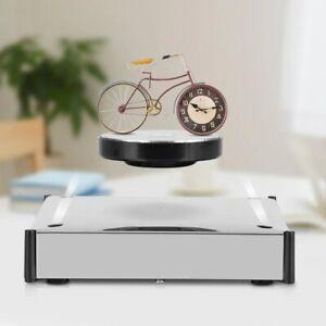 Magnetic Levitation Floating Shelf LED Platform 360 Rotating Decoration Display