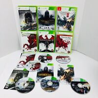 Dragon Age 1 2 Awakening Dishonored Lord Of The Rings Dungeon 3 Xbox 360 Lot X6