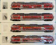 "Hobbytrade 73120 /1/2/3 - 4x Doppelstock ""Airport Express Schönefeld"" DB Regio"