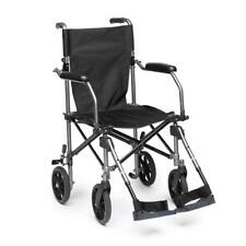 Drive Travelite Aluminium Transport Chair Transit Wheelchair Mobility Aid Fold