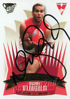 ✺Signed✺ 2005 SYDNEY SWANS AFL Premiers Card MICHAEL O'LOUGHLIN