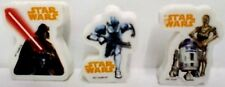 STAR WARS Surprise egg Toys - Erasers X3