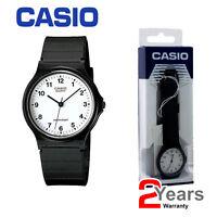 NEW Casio Classic Mens & Ladies Casual Black Wrist Watch MQ-24-7BLL 2YR Warranty