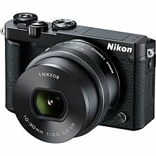 BLACK FRIDAY Nikon 1 J5 Mirrorless Digital Camera with 10-30mm Lens - Black