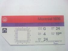 Billet Jeux Olympiques Montréal 24.07.1976 - Wrestling (19:00)