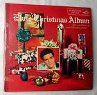 ELVIS PRESLEY~MEGA RARE 1957 CHRISTMAS COVER LP~WIDE SIZE~RCA LOC 1035