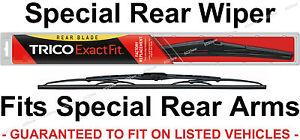 "TRICO 10-1 10"" Rear Wiper Blade fits 9mm Hook Rear Arm On SUV Wagon Crossover"