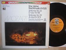 Theodor Guschlbauer - Mozart Kleine Nachtmusik Sinfonie - Vinyl, Germany 73, m-