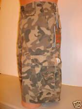 Wonderwall Camouflage Cargo Shorts CAMO Mens Sz.28 NEW