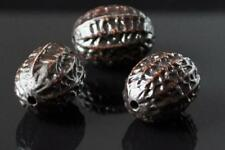 30pcs chocolate brown nuts acrylic beads 16mm