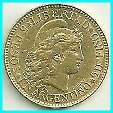 ARGENTINA - 1888 - 5 PESOS GOLD COIN .AUNC !!!