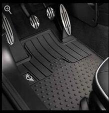 Mini Cooper 2007-2013 Hardtop R56 Rubber Mats Floormats Set Of 2 Front OEM