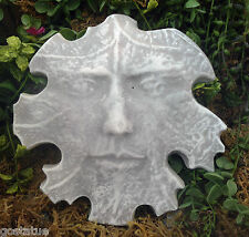 Cement plaster leaf face stone plastic mold see 5500 molds in my store