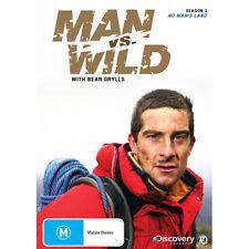 MAN VS WILD: NO MAN'S LAND - NEW (UNSEALED) DVD (DISCOVERY, BEAR GRYLLS)