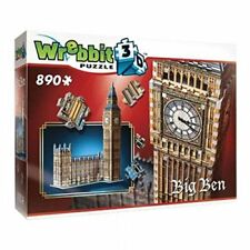 Wrebbit W3D-2002 - Puzzle 3D Big Ben, 890 Pezzi (q1r)