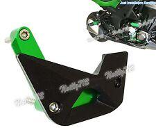 Right Engine Guard Crash Pad Slider Green For KAWASAKI Versys Ninja 1000 Z1000SX