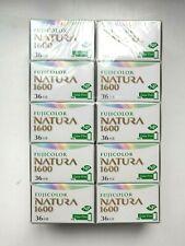 10 x Fujifilm Natura 1600 High Speed Color Film - New In Box - Rare!