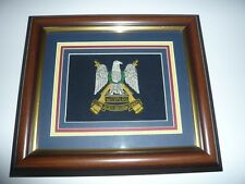 royal scots dragoon guards crest  BRITISH ARMY 12 X 10inches FRAME waterloo