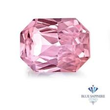 0.99 ct. Radiant Cut Natural Pink Sapphire ~ 7 x 5 mm
