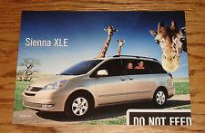 Original 2004 Toyota Sienna XLE Postcard 04